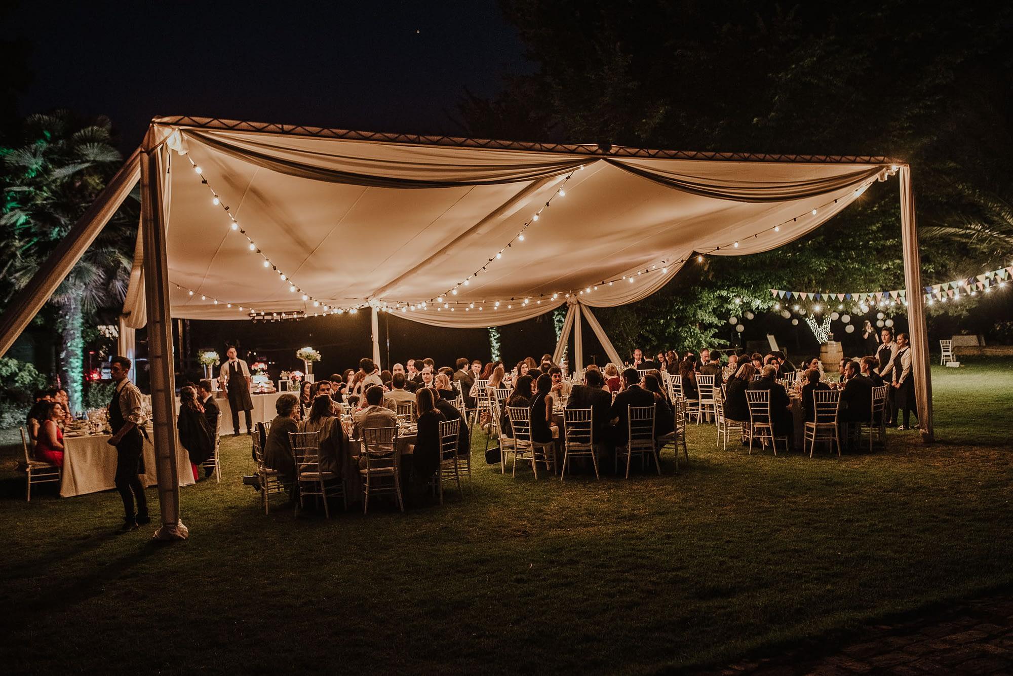 casa de campo fuller-cena campestre