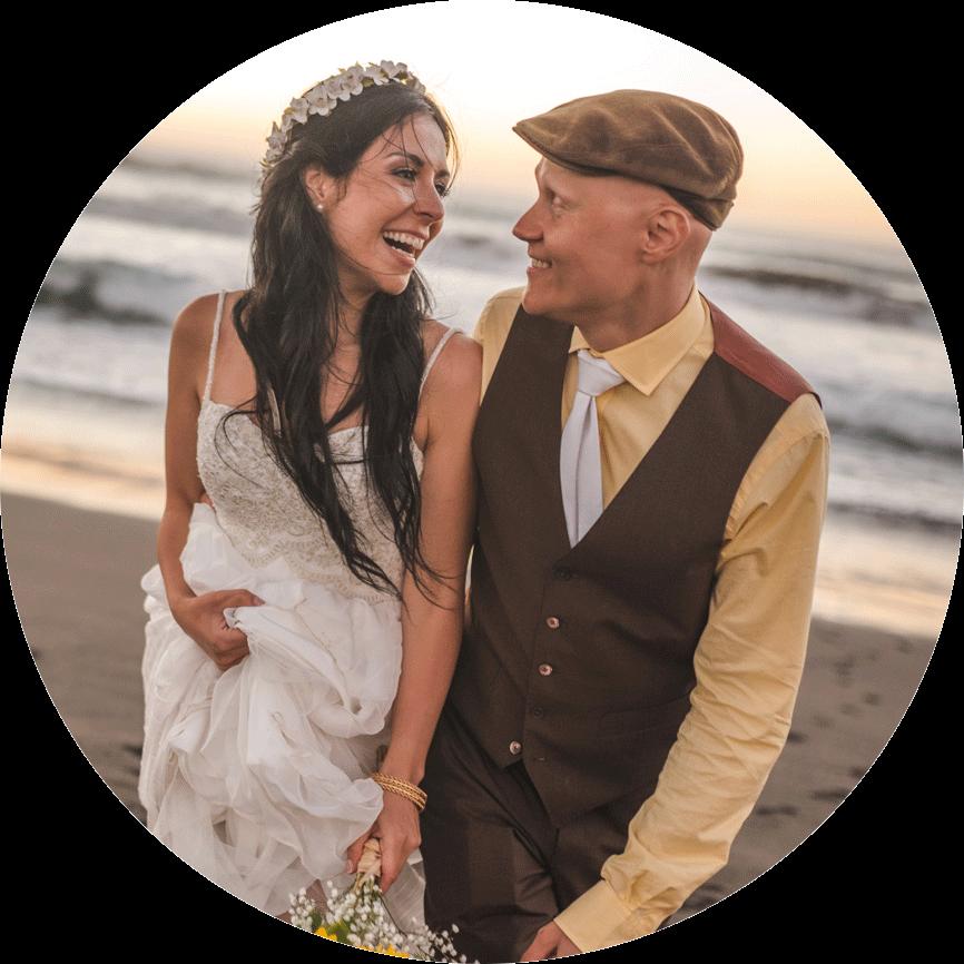 Matrimonio-playa-punta de lobos-pichilemu-diego mena fotografia