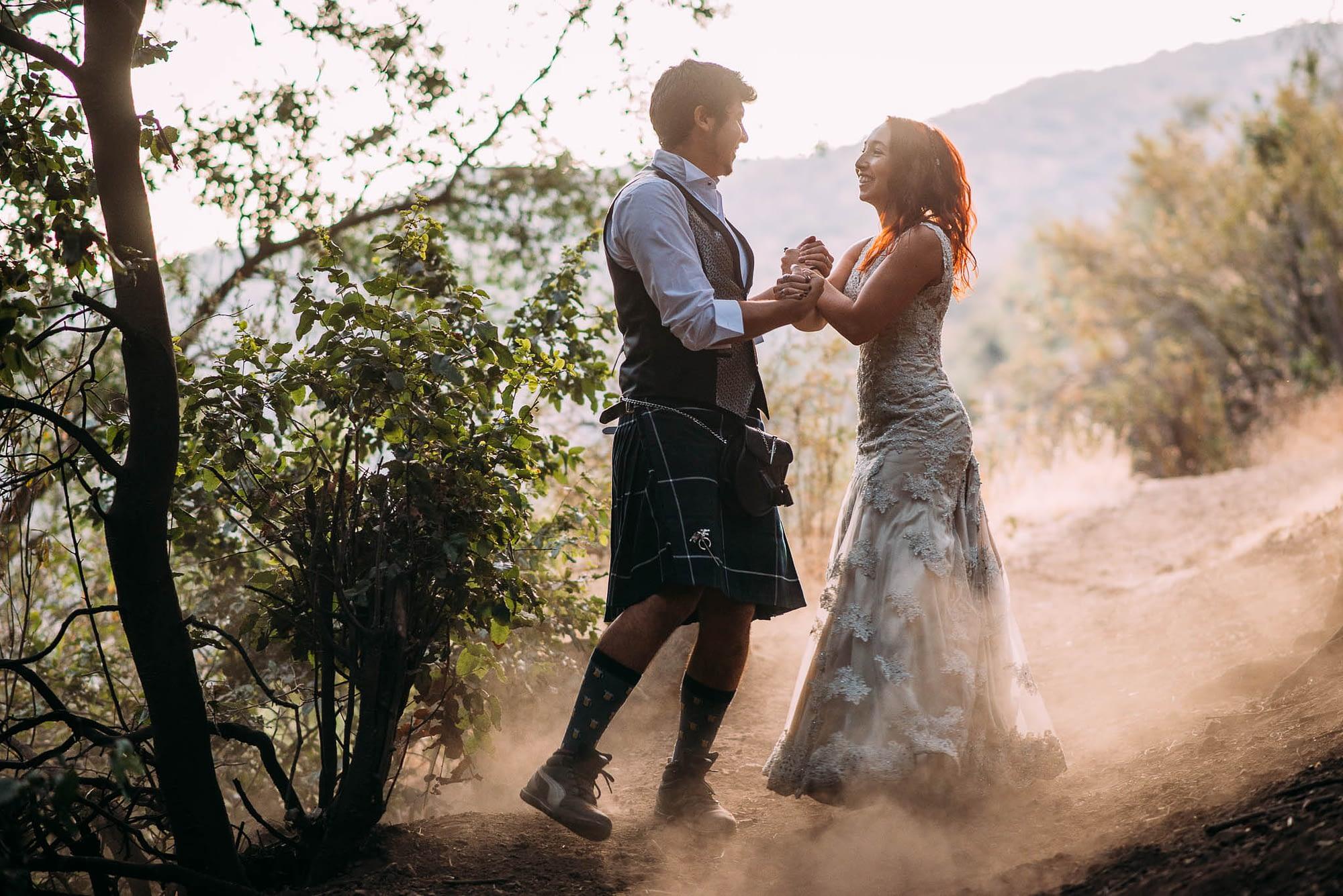 santuario de la naturaleza el arrayan-escalada-fotografo de matrimonios santiago