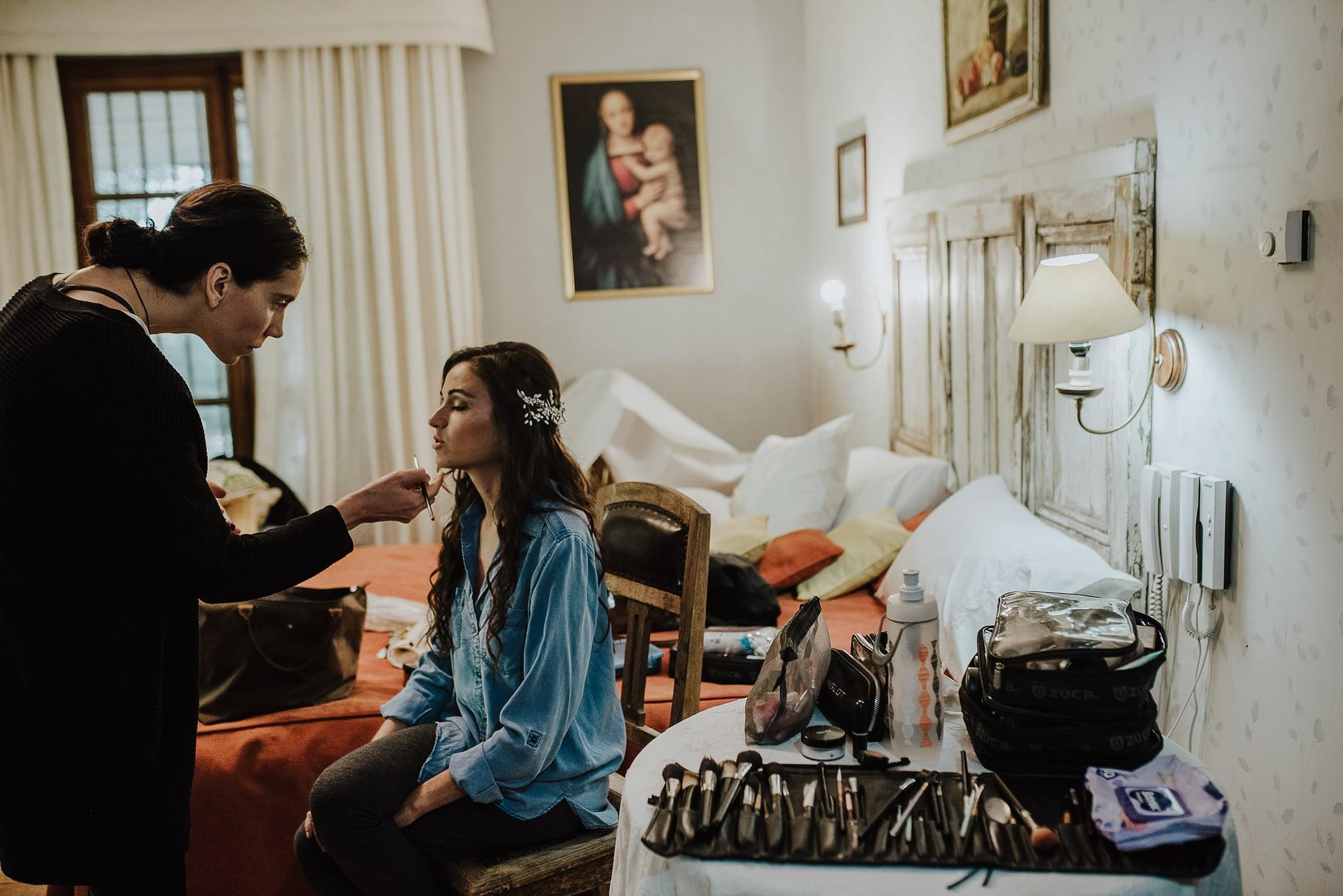 preparativos-novia-casa de campo fuller-make up